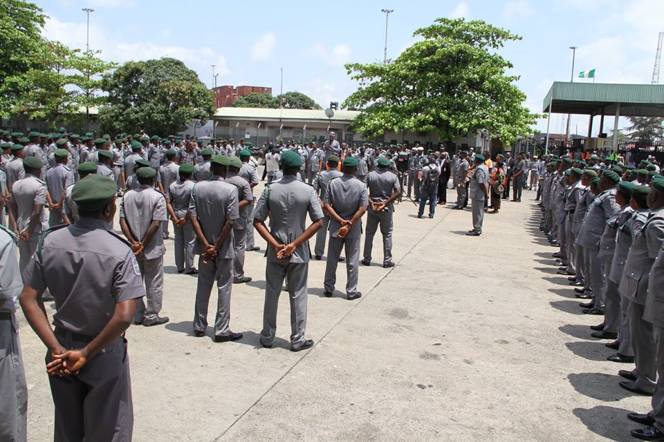 Nigeria Customs Service Officers