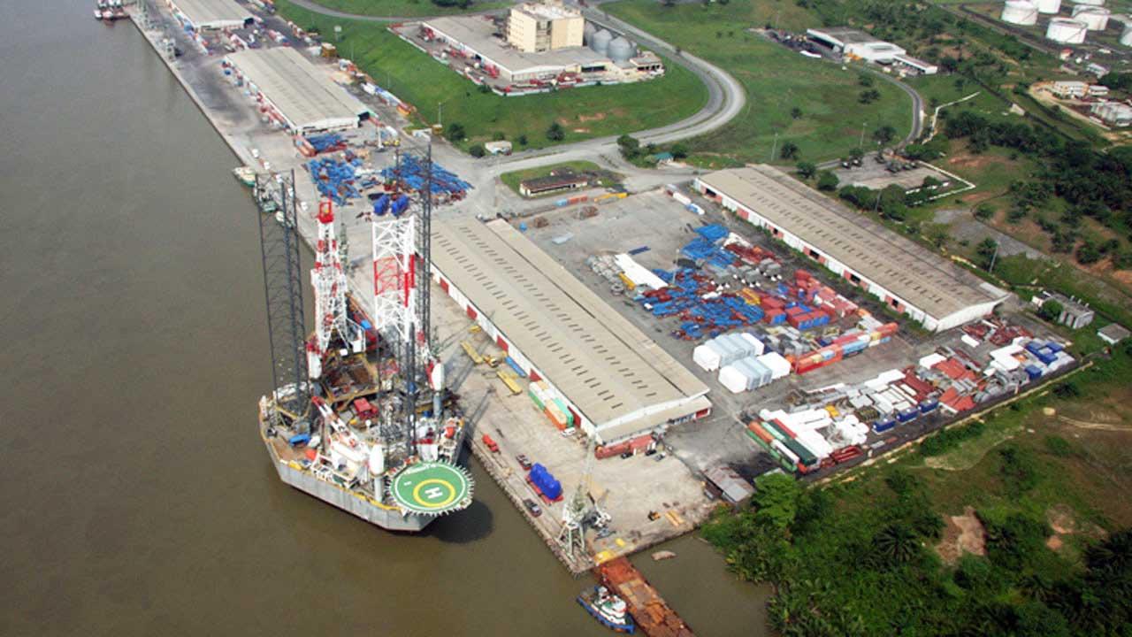 A Seaport in Nigeria.
