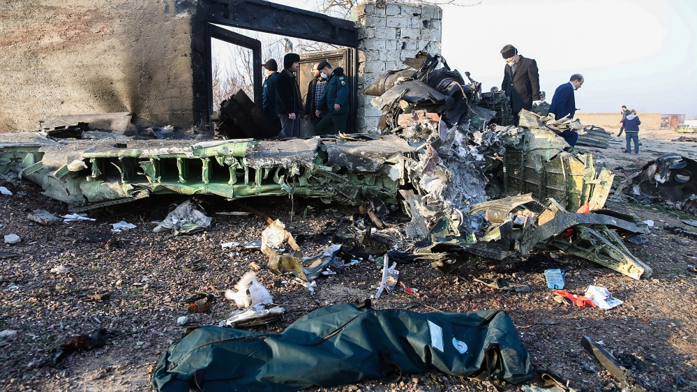 Ukraine airplane crashes in Iran, all 176 passengers killed