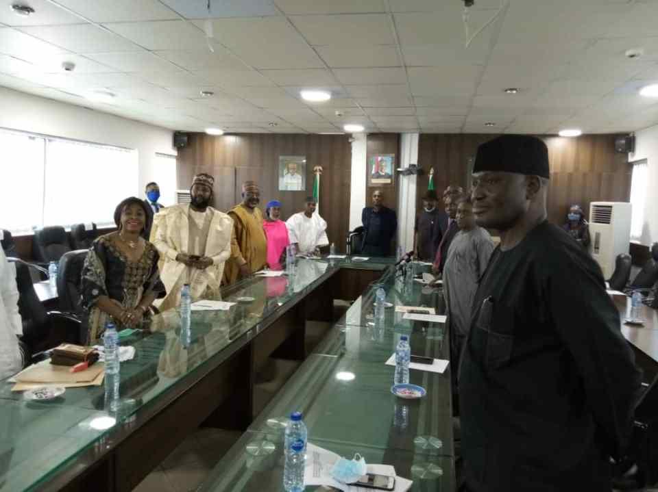 Ameachi inaugurates Nigeria Port Authority Board.