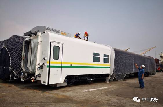 Newly received railway coaches.